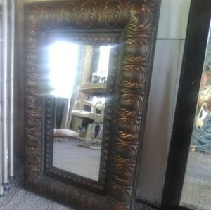 Other - Large metal wall mirror.